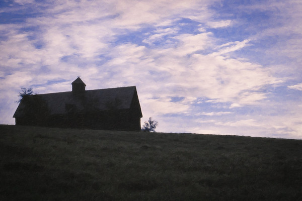 """""""Barn on the Hill"""""""