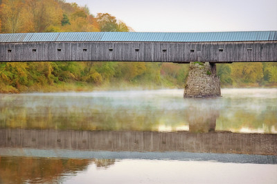 """Cornish-Windsor Covered Bridge  Creative"""