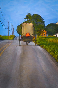 """Amish Buggy Creative"""