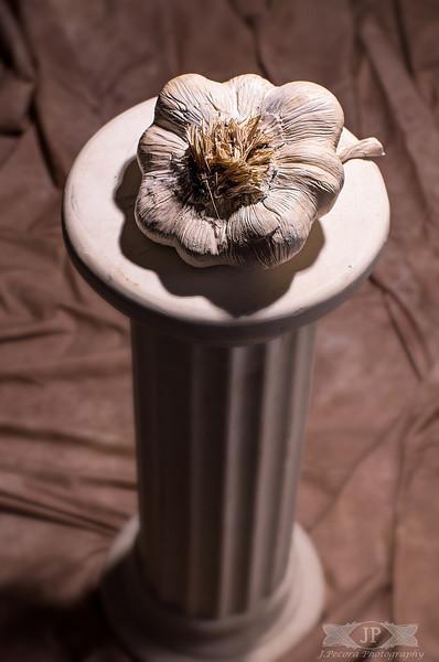Garlic Sculpture by Jamie DeNoia