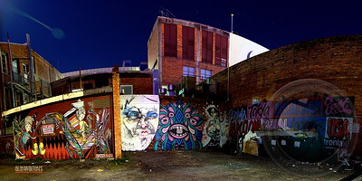 Fortitude Valley Urbex - Alley Art #1