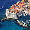 A panoramic view of an old city of Dubrovnik, Croatia