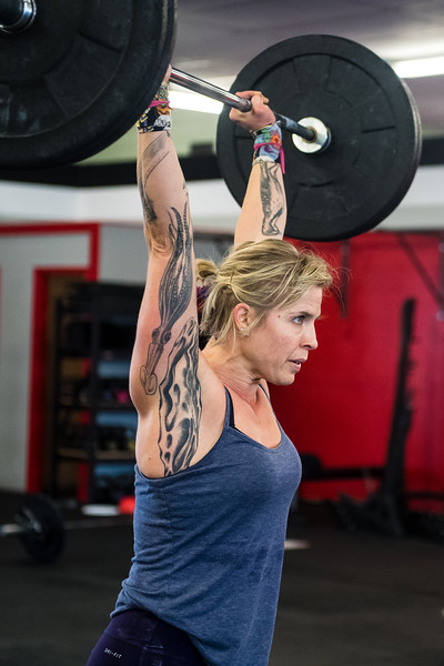 Crossfit Intensify West Burn Workout October 15, 2017 Photo by Deborah Mundorff