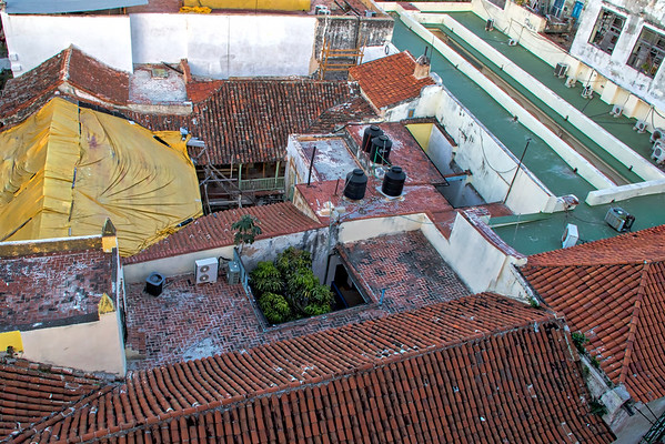 Roof top view, Havana Cuba