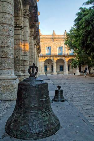 View of Palacio del Segundo Cabo from the Palacio de los Capitanes Generales