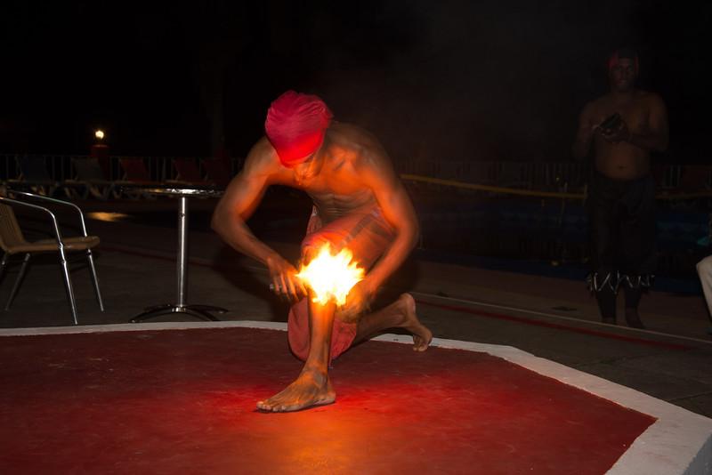 Flame Dancer, Vinales, Cuba.