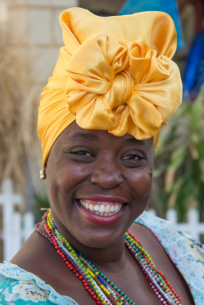 Woman, Havana, Cuba.