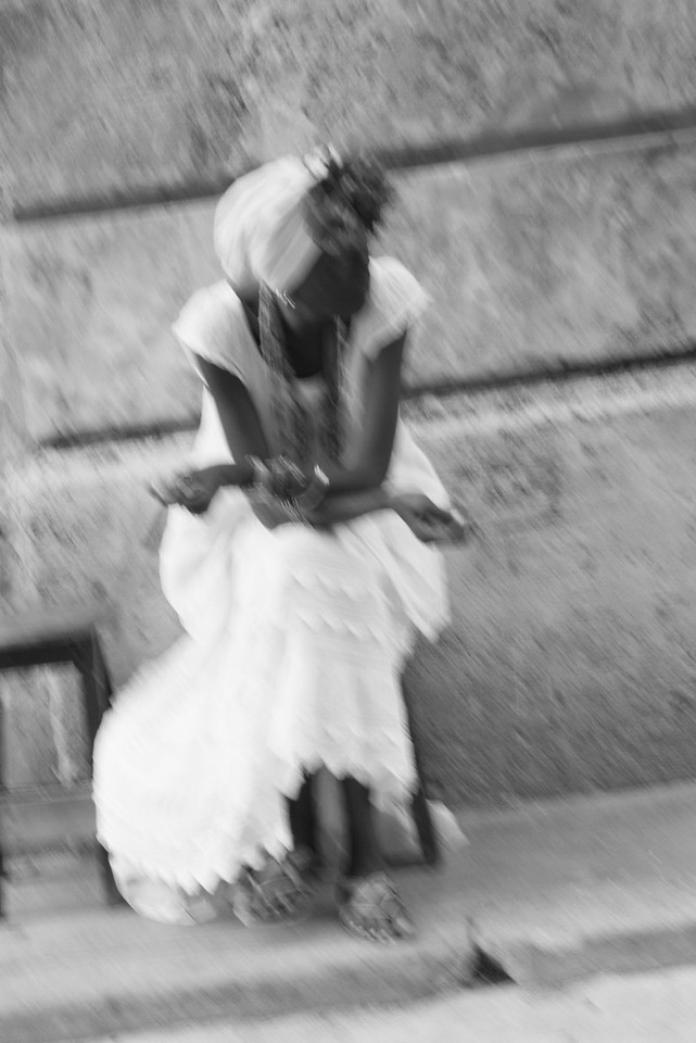 Woman on Street, Havana.