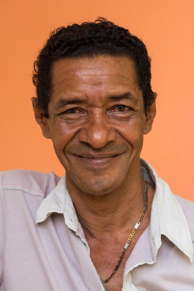 Artist Pelegrin, Cuba.