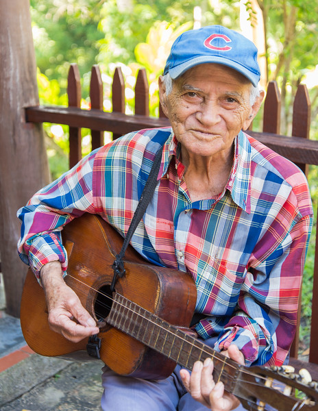 Musician, Las Terrazas, Cuba.