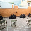 Patio off my 2nd floor bedroom in Cienfuegos