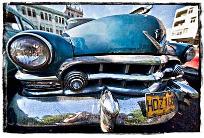 #1012 Blue Caddy