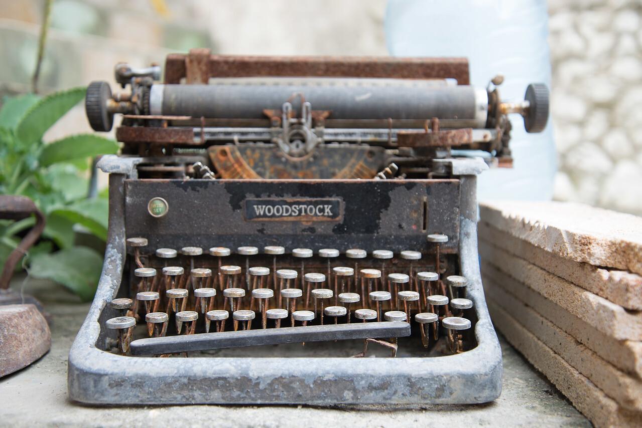 Woodstock Typewriter, Havana, Cuba.