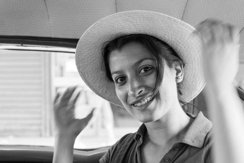 Woman in Panama Hat, Havana, Cuba.