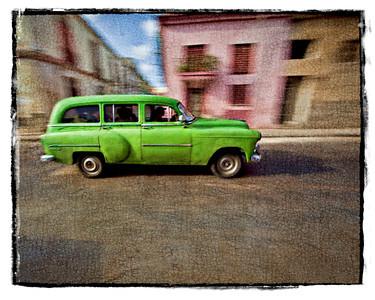 #1011 Green Car