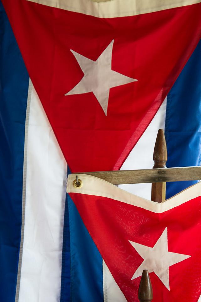 Cuban Flags, Las Terrazas.