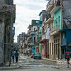 Our street in Central Havana