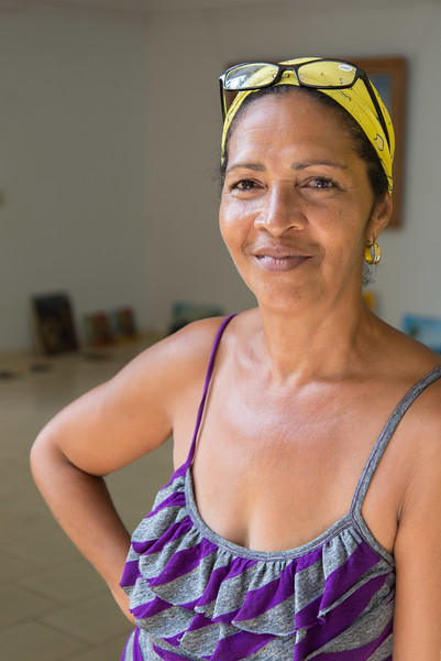 Woman, Cuba.