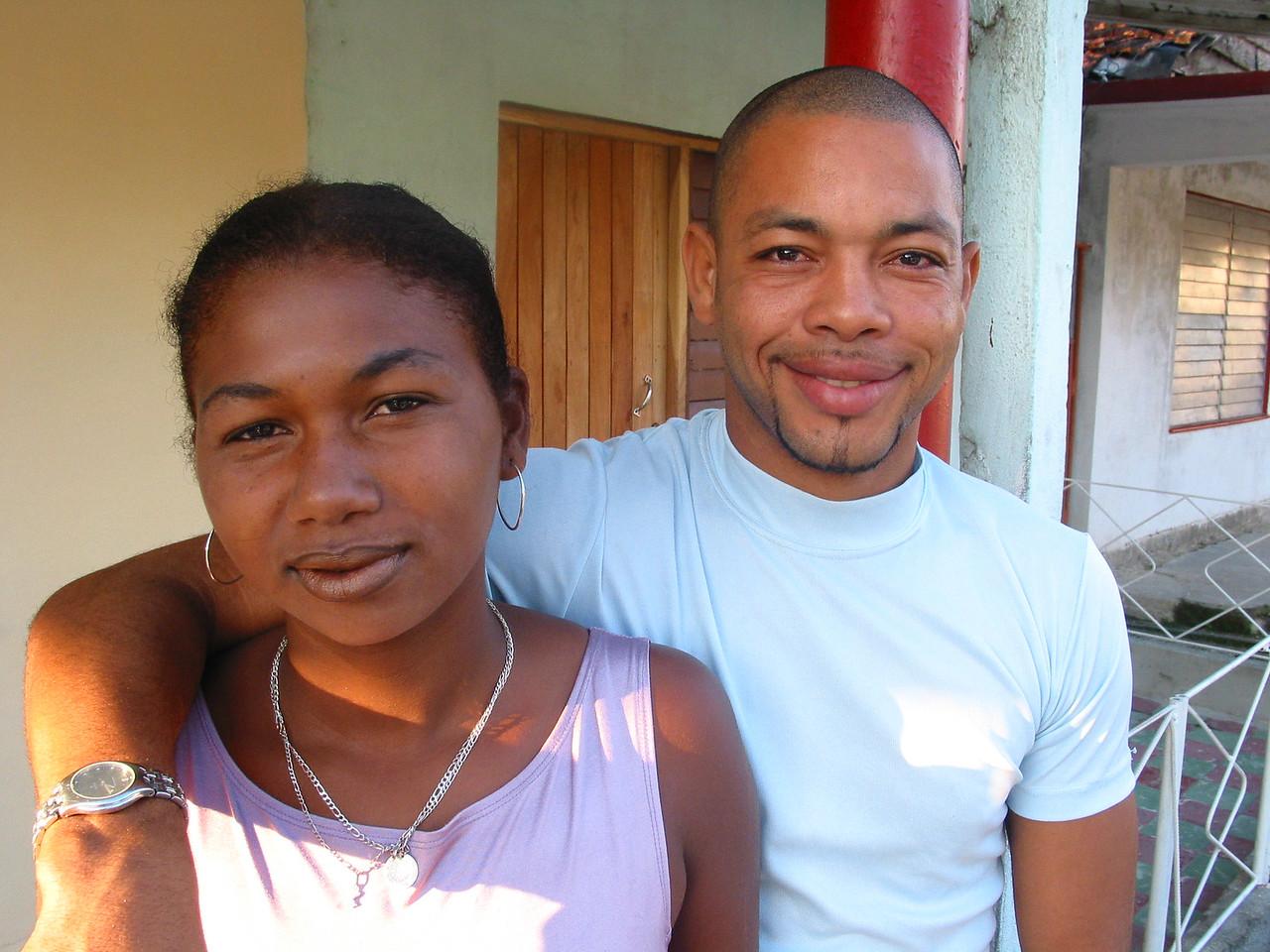 Siblings, Cuba.