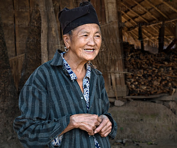 Hmong elder, Laos