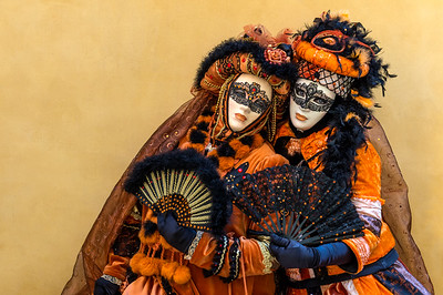Venetian Carnival twosome