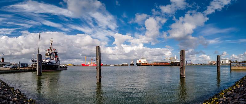 Cuxhaven Hafen (5pics 7234x3073px)