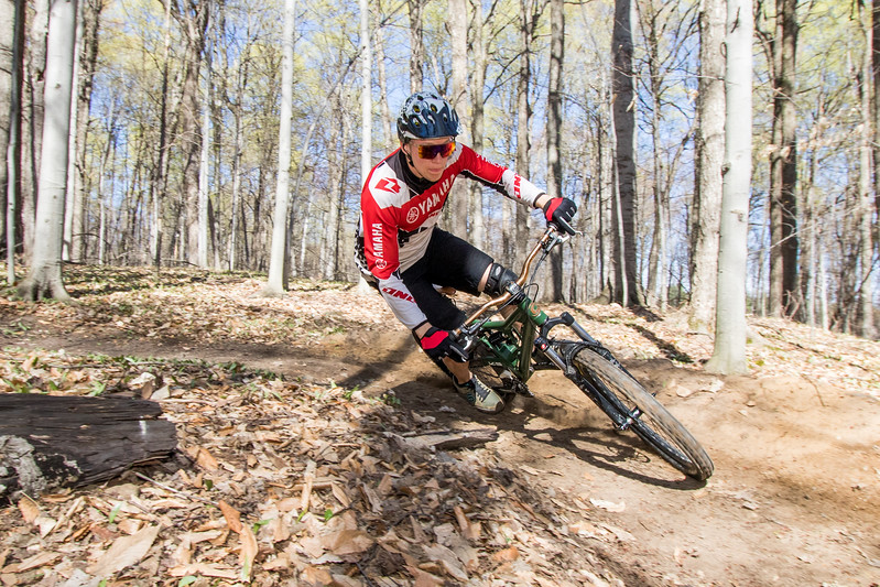 Mountain Bike shoot in the Clarkson ROTC Trails