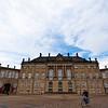 COPENHAGEN. AMALIENBORG ROYAL PALACE. AMALIENBORG PLADS.