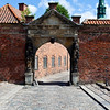 FREDERIKSBORG SLOT. HILLEROD. ZEALAND. DENMARK. ENTRANCE GATE [2]