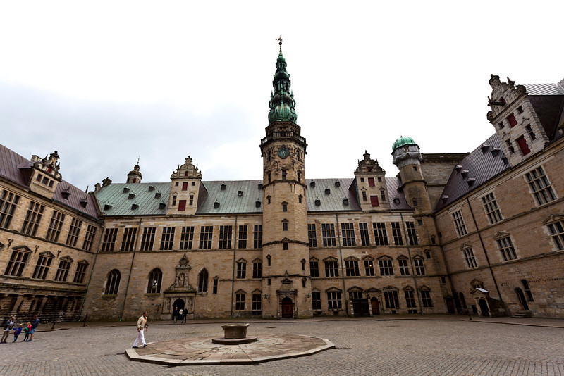 HELSINGOR. KRONBORG SLOT. AN UNESCO WORLD HERITAGE SITE. ZEALAND. DENMARK.