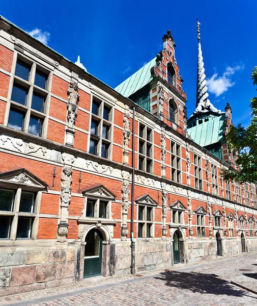 COPENHAGEN. BORSEN. CITY'S STOCK EXCHANGE. SLOTSHOLMEN.