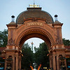 COPENHAGEN. TIVOLI ENTRANCE BY NIGHT. [2]