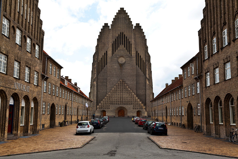 COPENHAGEN. GRUNDTVIGS CHURCH. BISPEBJERG. 1921-1940.