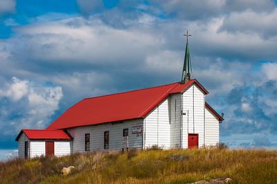 Rural Church, Babb, Montana