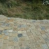 Cobblestones rustic Driveway Arcadia CA Designed & installed by Sacred Space Garden Design, Inc.