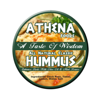 Athena Foods Hummus package design