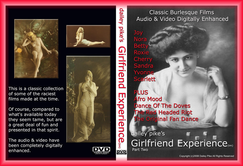 Dailey Pike's Girlfriend Experience(tm) DVD cover