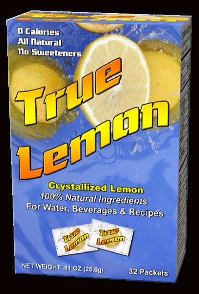 New True Lemon package design