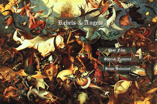 Rebels & Angels Pop Up Blu Ray DVD Menu