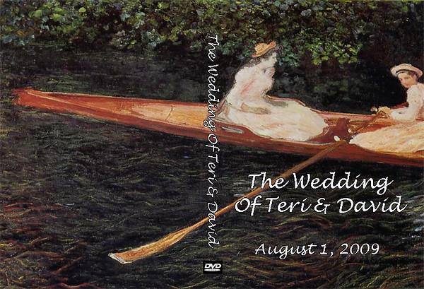 Wedding DVD Design