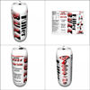 Product design for Killer Buzz energy drink.