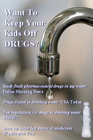 Ad for bottled water association