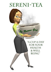 Print ad for Serini-Tea by Nature Girl