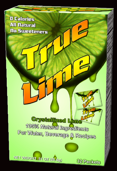 New True Lime package design