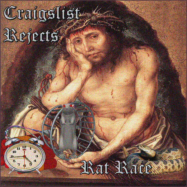 CD cover for the band Craigslist Rejects album Rat Race