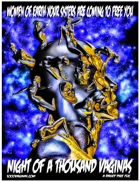 Night Of A Thousand Vaginas movie poster key art