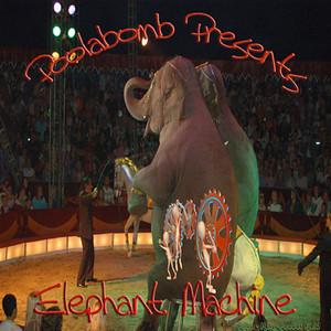 "Album cover for Poolabomb's ""Elephant Machine"" CD"