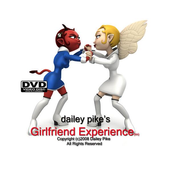 Girlfriend Experience DVD label