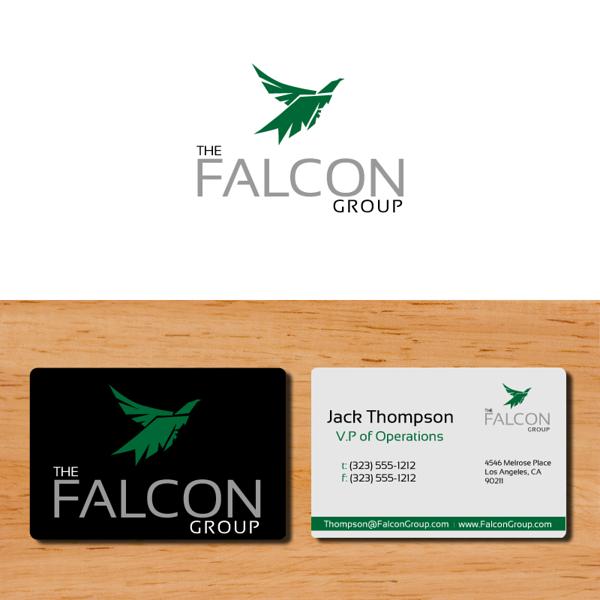 Original vector art Falcon created for Falcon Group
