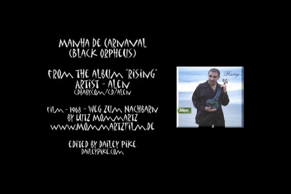 """Music video for Manha De Carnaval from the album """"Rising"""" created for the world music artist/violinist Alen"""